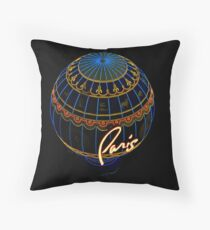 Paris in Las Vegas Throw Pillow