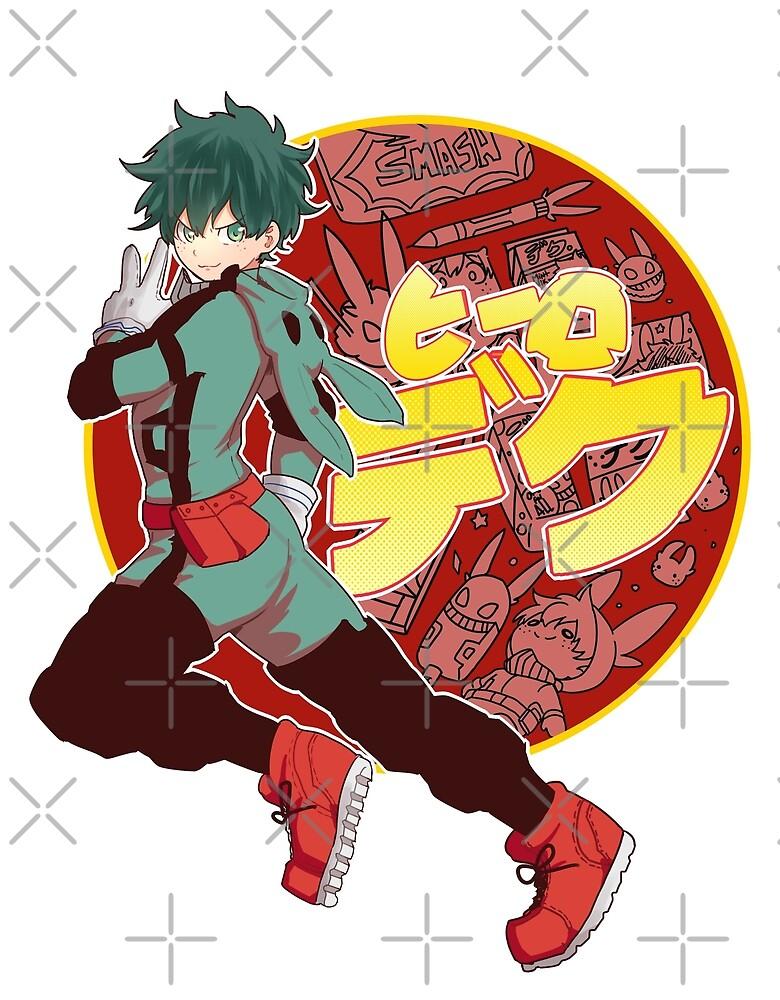 Deku Hero  by konatamashiine