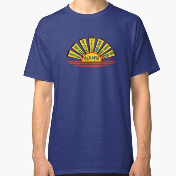 Olympic Peninsula Water Landmarks Classic T-Shirt