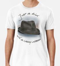 Hut für Leonard Cohen Männer Premium T-Shirts