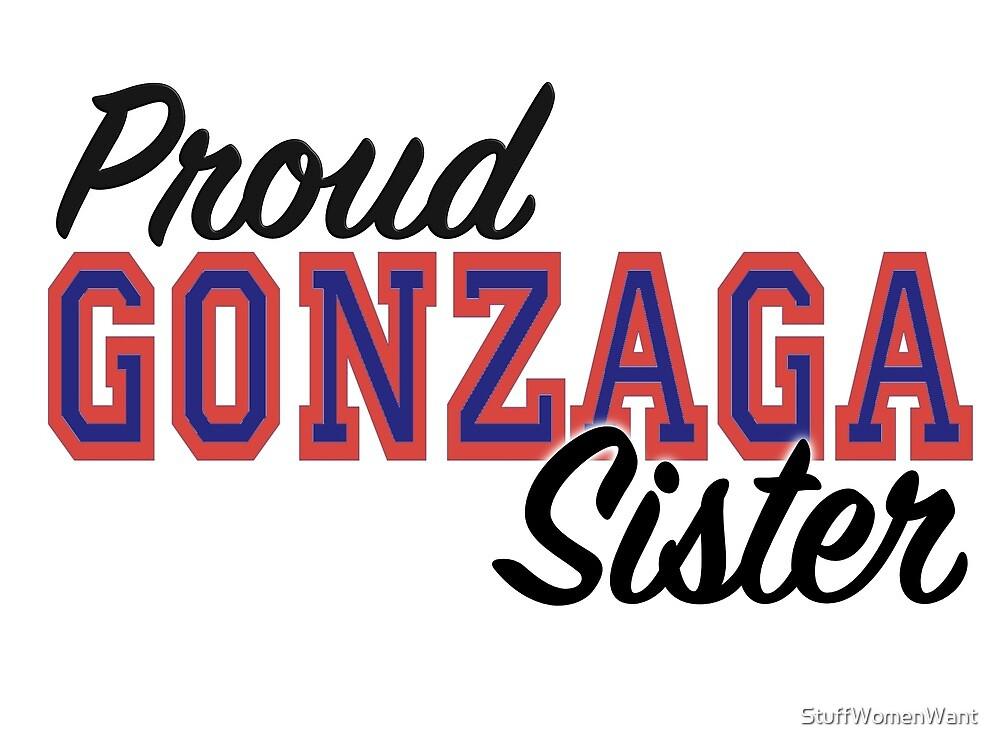 Proud Gonzaga Sister by StuffWomenWant