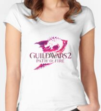 Guild Wars 2 - Path Of Fire Women's Fitted Scoop T-Shirt