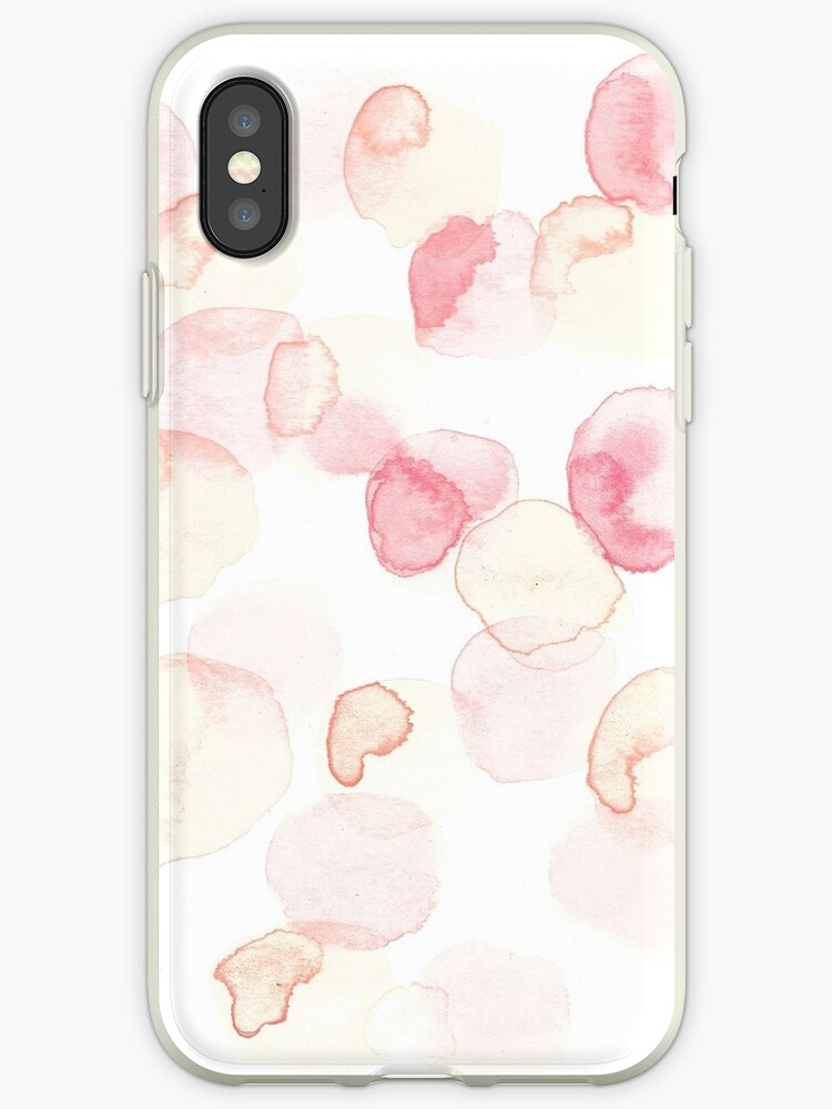 pink abstract watercolour by shannonpenny98