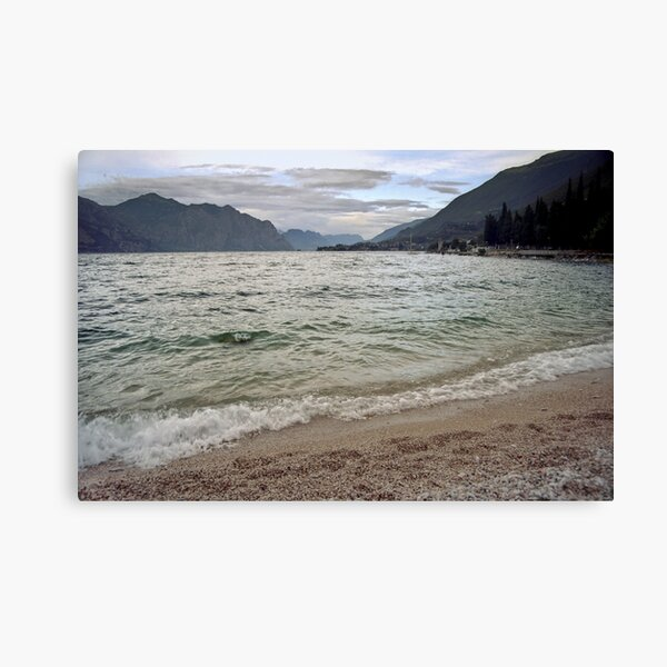 Lago di Garda, Italy Canvas Print