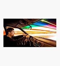 Warp Speed Photographic Print