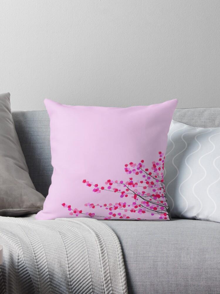 Pink cherry blossom by redumbrellashop