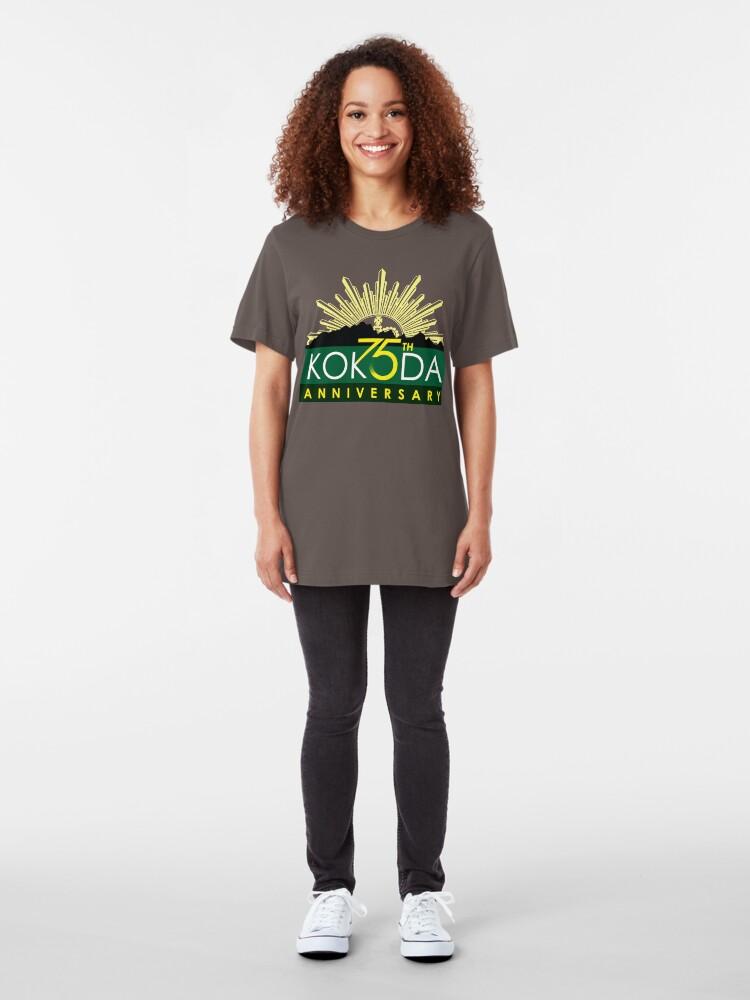 Alternate view of Kokoda 75th Anniversary Tshirt Slim Fit T-Shirt