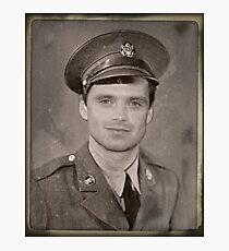 Sergeant Barnes Photographic Print