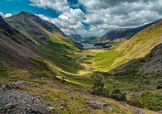 The View From the Haystacks  by Jamesmarsden
