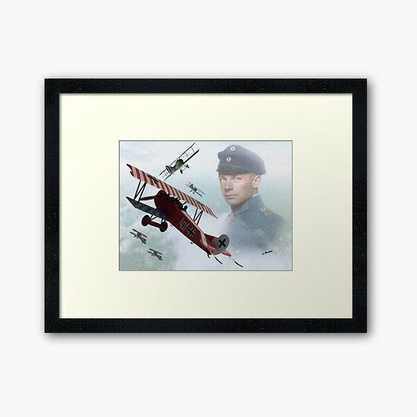 Oberleutnant Ernst Udet Framed Art Print