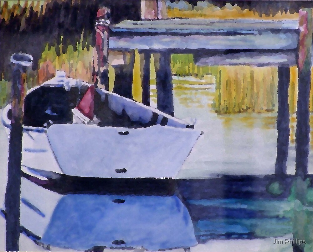 Sound Side Dock by Jim Phillips
