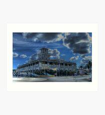 Goondiwindi Shopping Centre Art Print