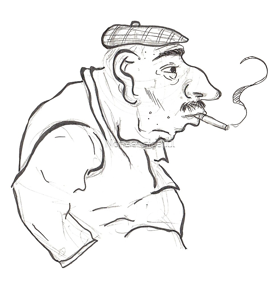 The Smoker by Nonsensical11
