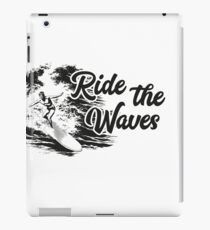 Ride The Waves – Retro Surfing iPad Case/Skin