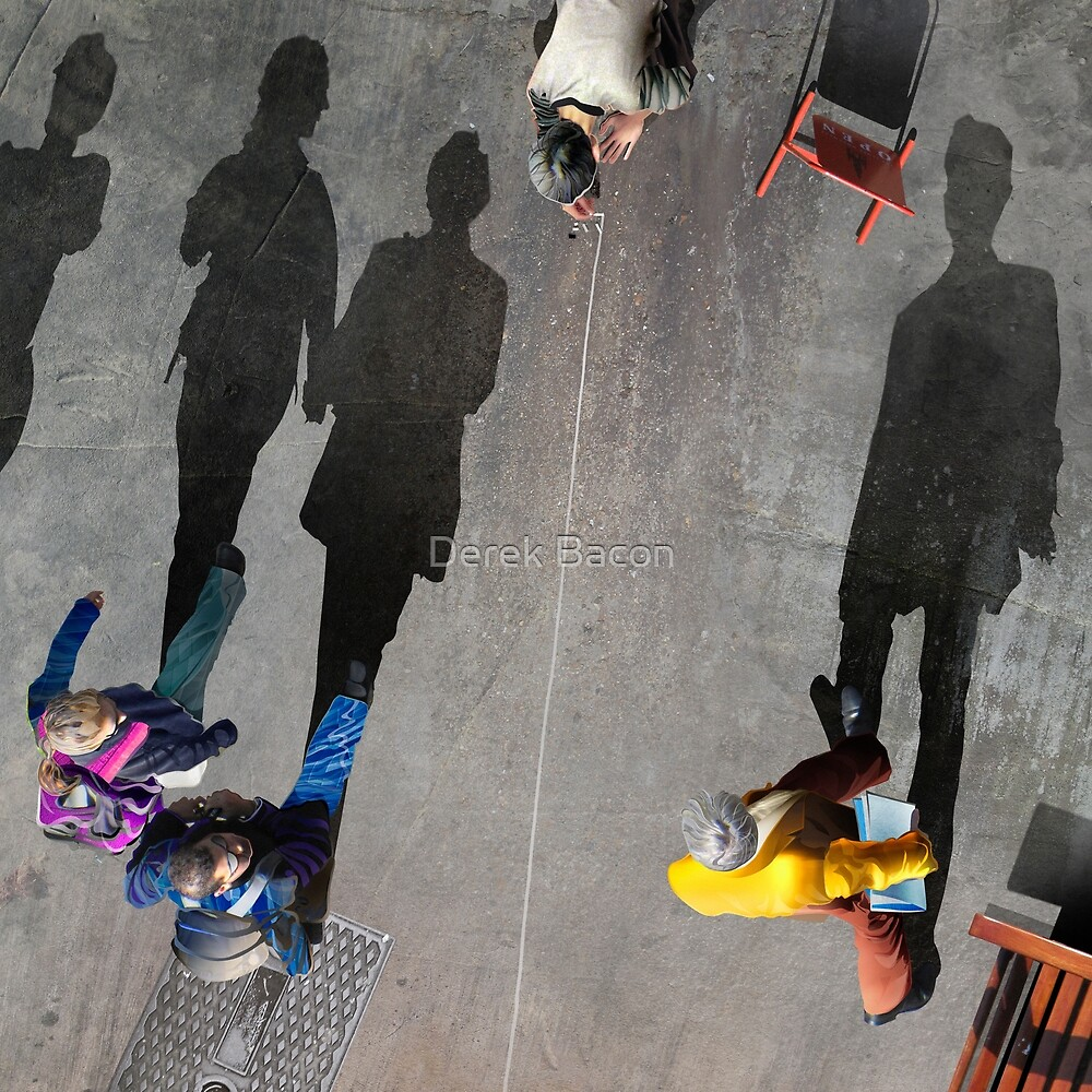 Pavement Artist by Derek Bacon