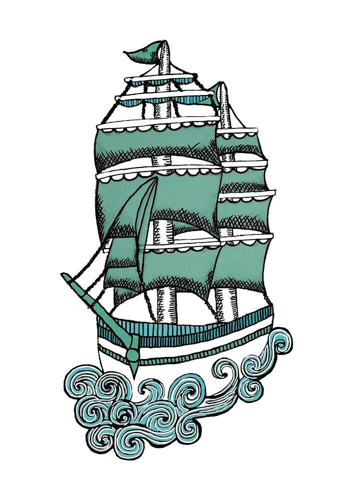 Sailor Ship by AlyceAnn