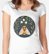 Harvester of gold Women's Fitted Scoop T-Shirt