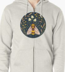Harvester of gold Zipped Hoodie