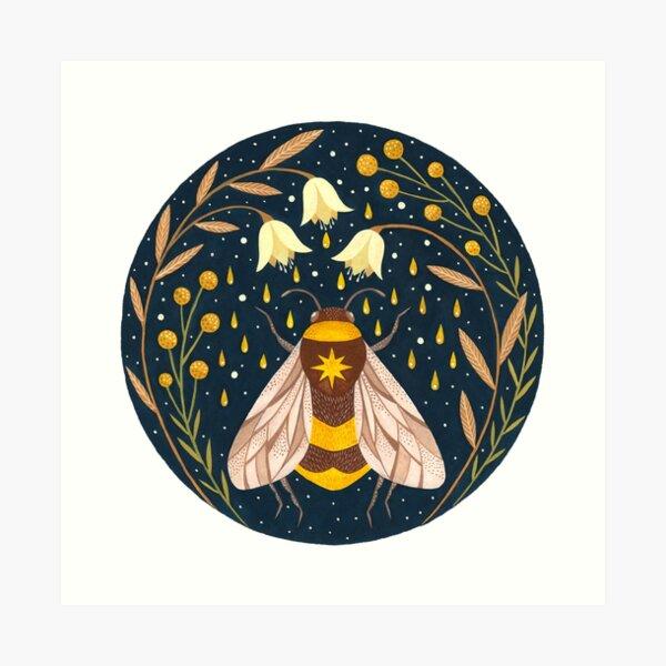 Harvester of gold Art Print