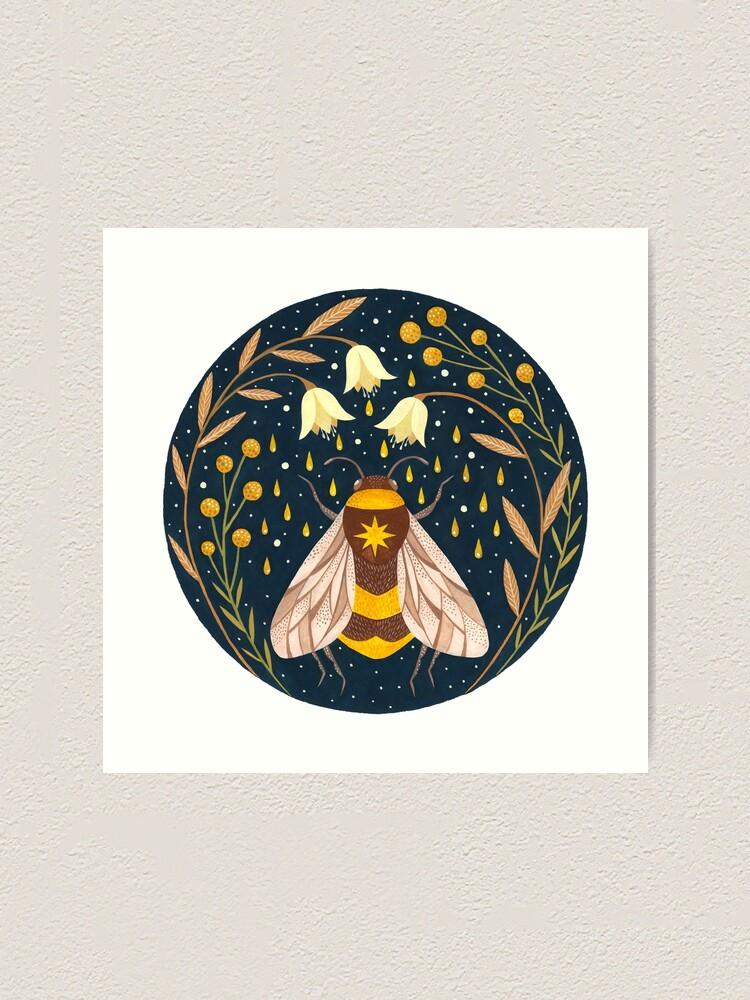 Alternate view of Harvester of gold Art Print