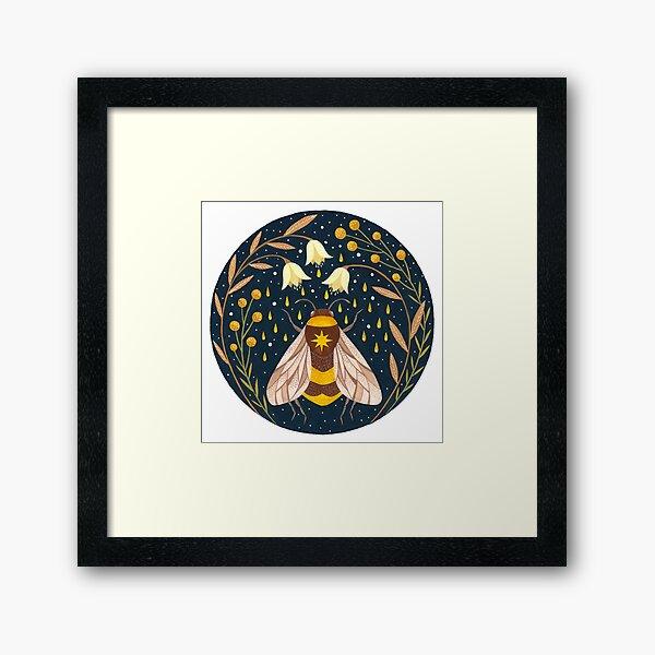 Harvester of gold Framed Art Print