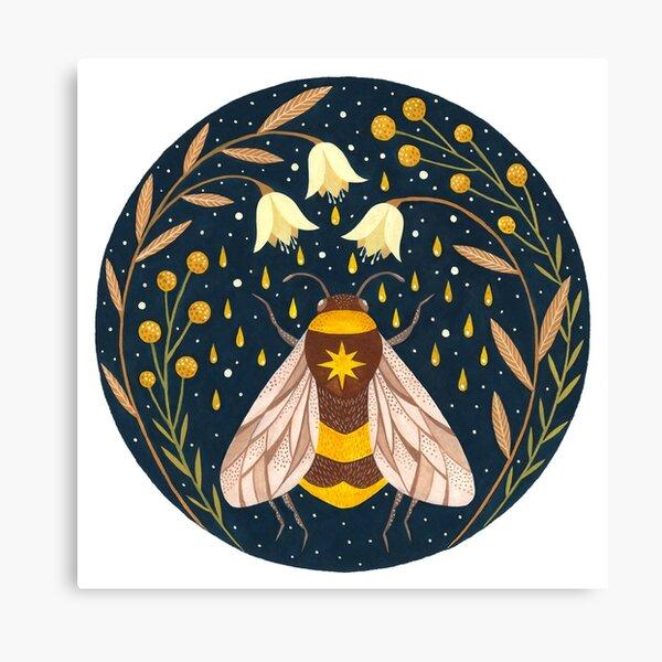 Mähdrescher aus Gold Leinwanddruck