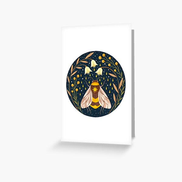 Harvester of gold Greeting Card