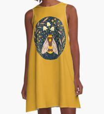Harvester von Gold A-Linien Kleid
