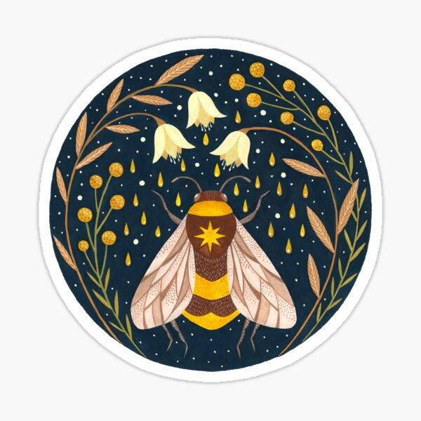 Harvester of gold Sticker