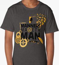 Manners Maketh Man Minimalist Long T-Shirt