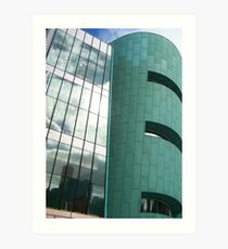 A Reflection or Two with Angles and Curves Art Print