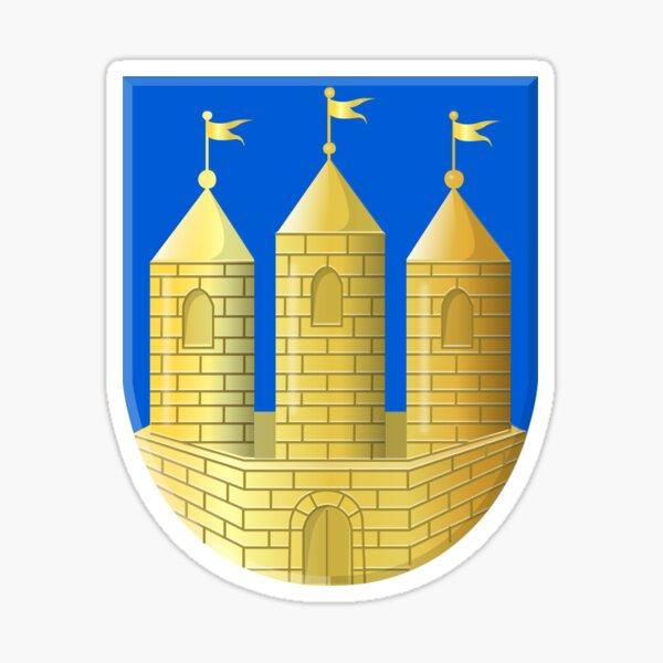 """3/"""" Schleswig Holstein Estado Escudo de Armas Alemania Pegatina de Coche 5/"""" o 6/"""""""