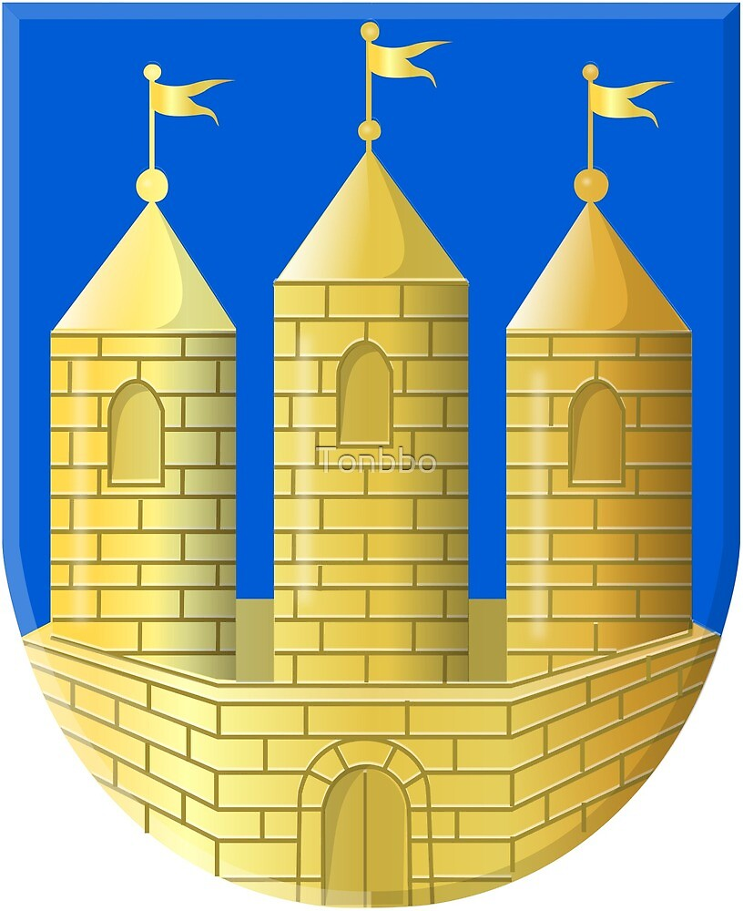 Tilburg Coat of Arms, Netherlands by Tonbbo