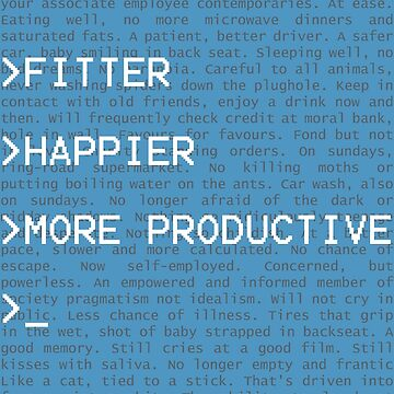 Fitter, Happier, and more Productive by Usul