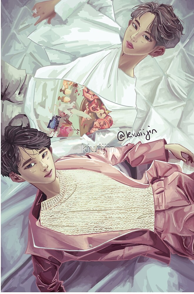 Yoonmin- Blood, Sweat & Tears by kiwiijin