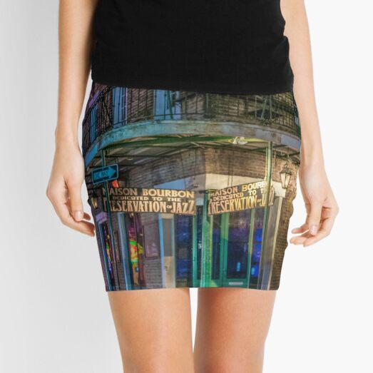 Moon Indigo Mini Skirt