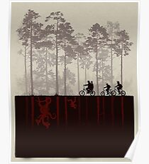 Stranger Things - Upside Down Poster