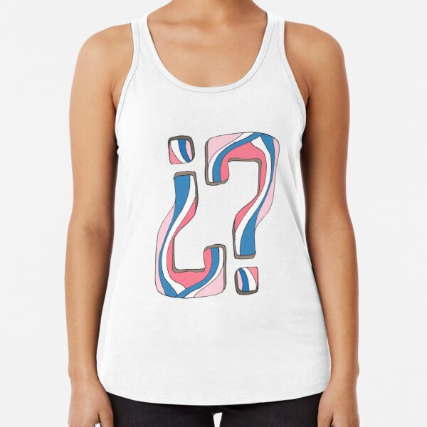 Did I miss something... again? Racerback Tank Top