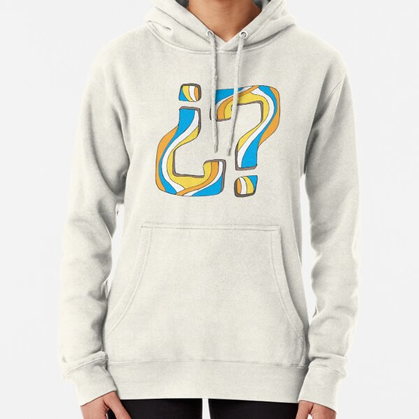 Did I say something funny? Pullover Hoodie