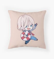 Yuri on Ice Throw Pillow