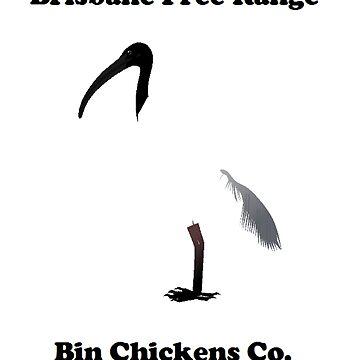 Brisbane Bin Chickens Co.  by megasheldon