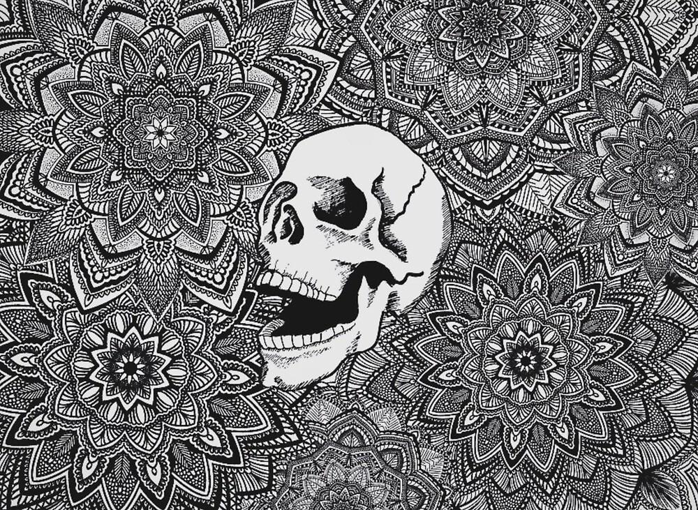 Mandala Skull by ShannonPatrice