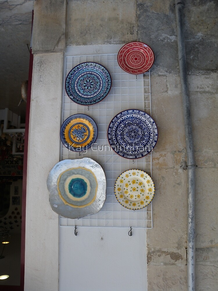 Wall Decoration_Coimbra_Portugal by Kay Cunningham