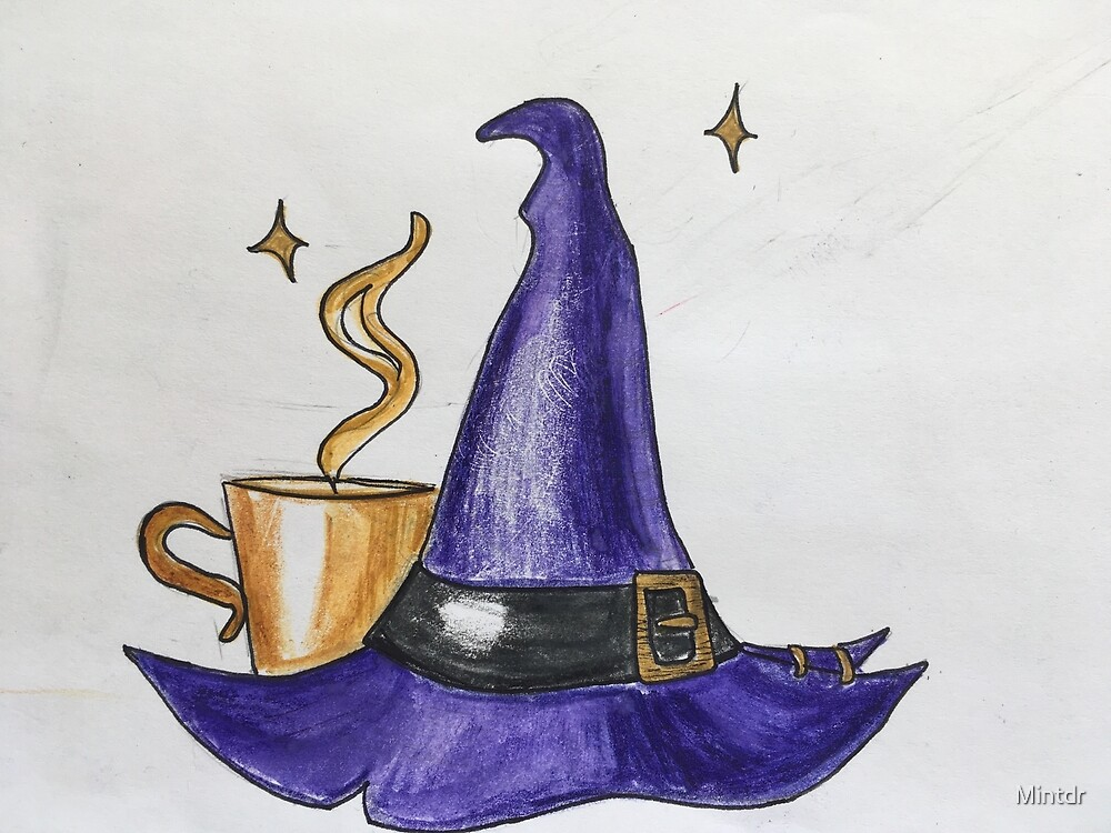 Witch hat by Mintdr