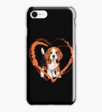Cute Beagle puppy iPhone Case/Skin