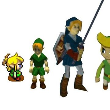 The Evolution of Link by stayaminute