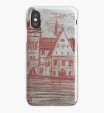 Medieval town  iPhone Case/Skin