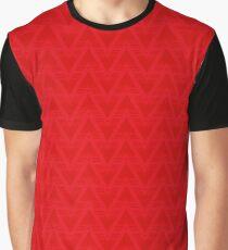 Arsenal 1991-93 Mashup Red Graphic T-Shirt