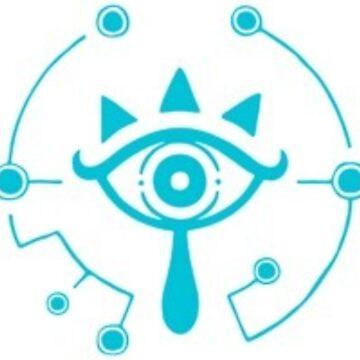 The Legend of Zelda Sheikah Eye by stayaminute