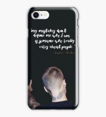 Justin Bieber Speech - Justin Bieber iPhone Case/Skin